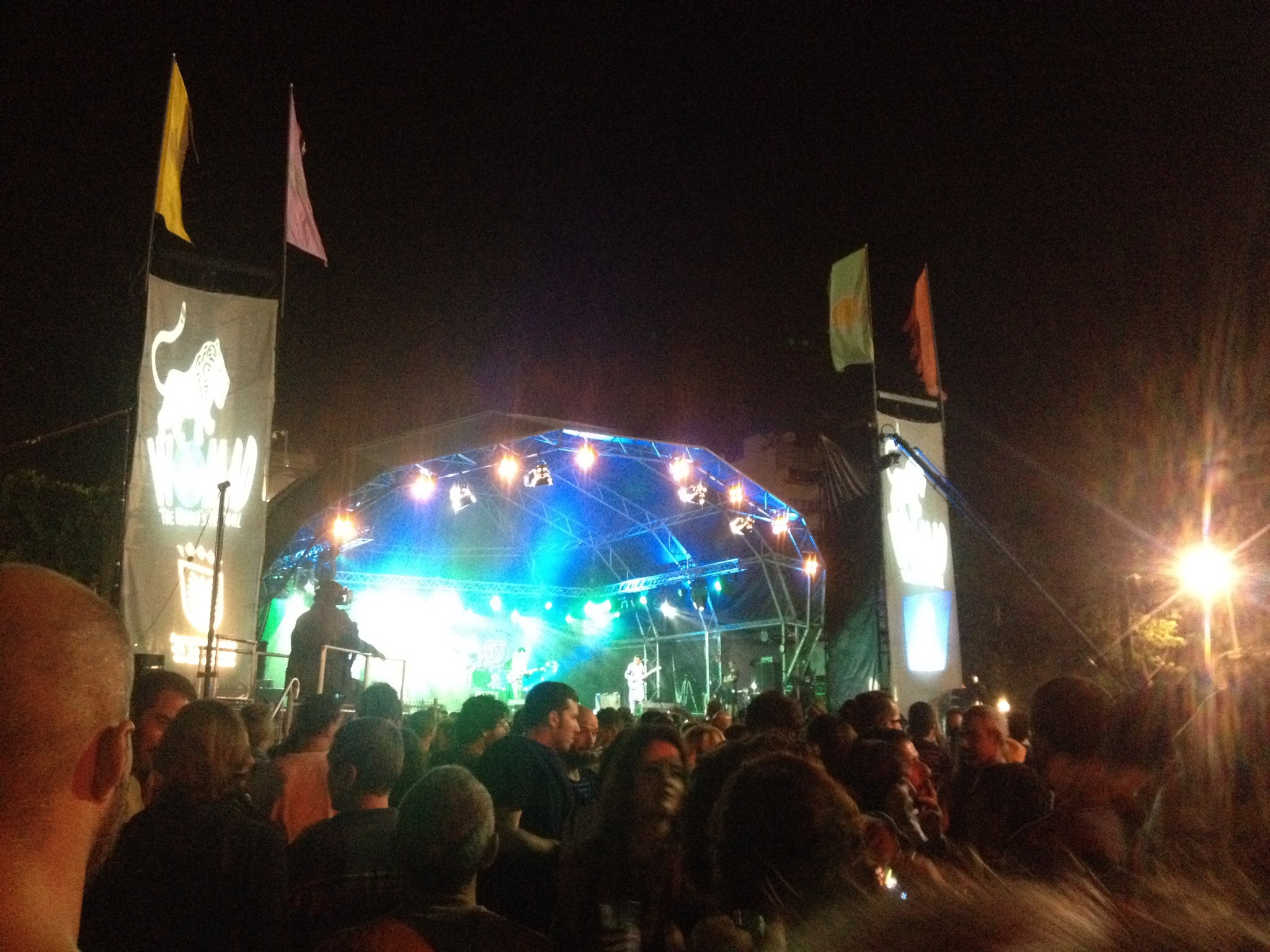The Womad free music festival came through my first weekend, couldn't miss it!
